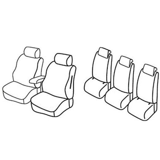 Sedežne prevleke za Škoda Yeti