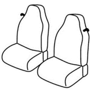 Sedežne prevleke za Smart Fortwo