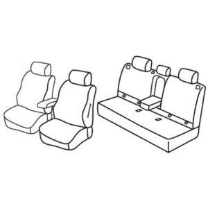 Sedežne prevleke za Subaru Forester