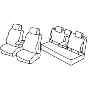 Sedežne prevleke za Subaru Outback