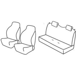 Sedežne prevleke za Suzuki Alto