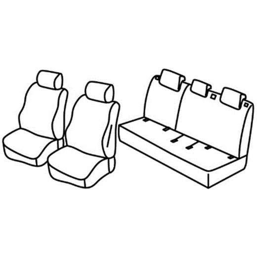 Sedežne prevleke za Suzuki Baleno
