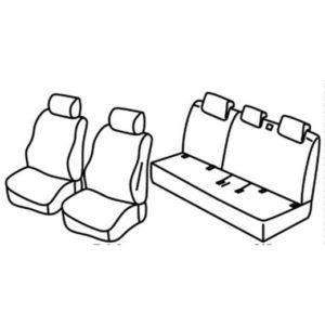 Sedežne prevleke za Suzuki Celerio