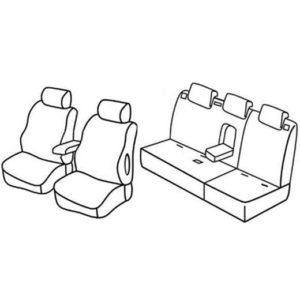 Sedežne prevleke za Suzuki Grand Vitara