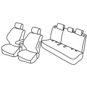 Sedežne prevleke za Suzuki Ignis