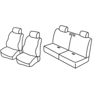 Sedežne prevleke za Suzuki Jimny