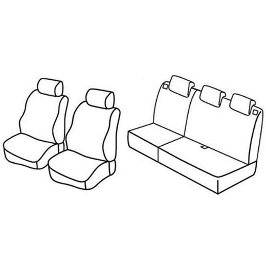 Sedežne prevleke za Suzuki Splash