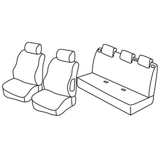 Sedežne prevleke za Suzuki Swift