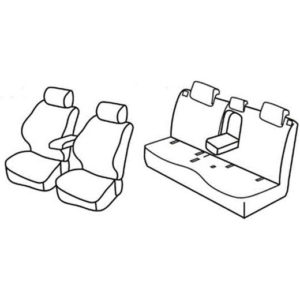 Sedežne prevleke za Suzuki SX4 S-Cross