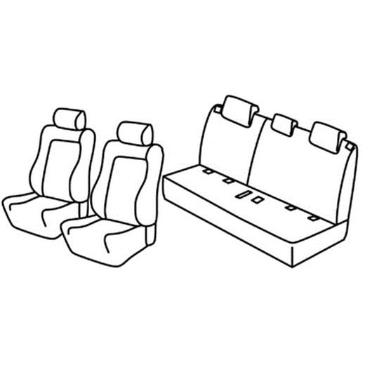 Sedežne prevleke za Suzuki Vitara Elegance