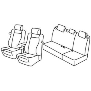 Sedežne prevleke za Toyota Auris