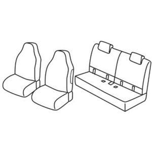 Sedežne prevleke za Toyota Aygo