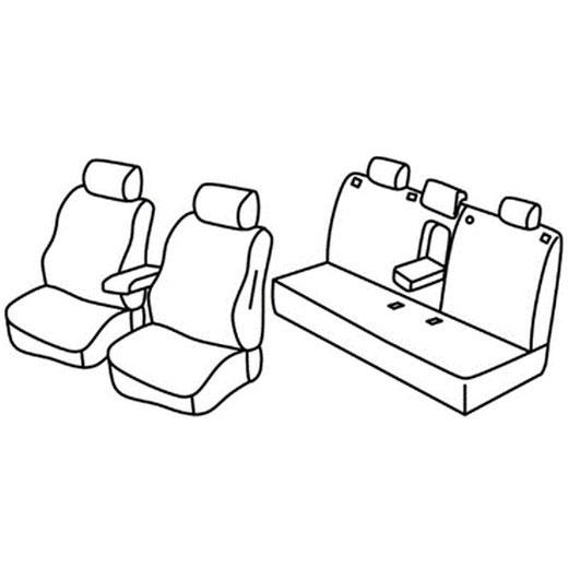 Sedežne prevleke za Toyota Corolla