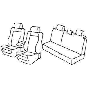 Sedežne prevleke za Toyota Corolla E110