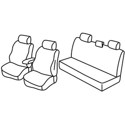 Sedežne prevleke za Toyota Hilux