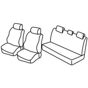 Sedežne prevleke za Toyota Hilux Pick up
