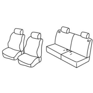 Sedežne prevleke za Toyota Rav4