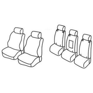 Sedežne prevleke za Toyota Verso