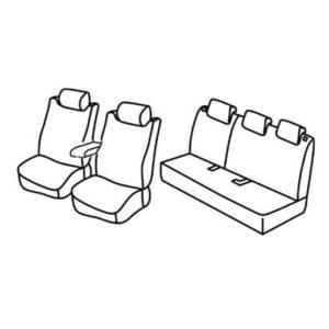 Sedežne prevleke za Toyota Yaris Hybrid
