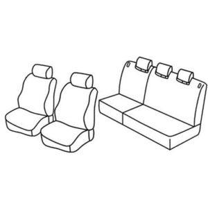 Sedežne prevleke za Toyota Yaris
