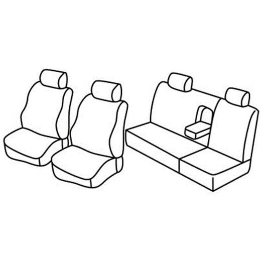 Sedežne prevleke za Volkswagen Bora