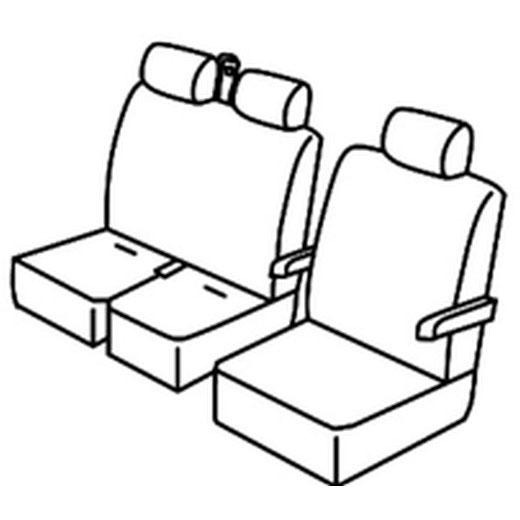 Sedežne prevleke za Volkswagen Crafter