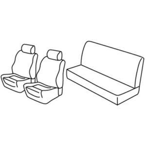 Sedežne prevleke za Volkswagen Golf 2