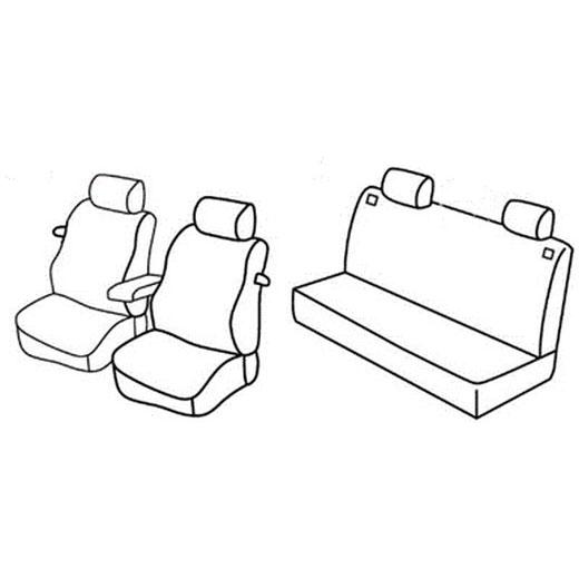 Sedežne prevleke za Volkswagen Golf 4
