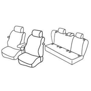 Sedežne prevleke za Volkswagen Golf 5