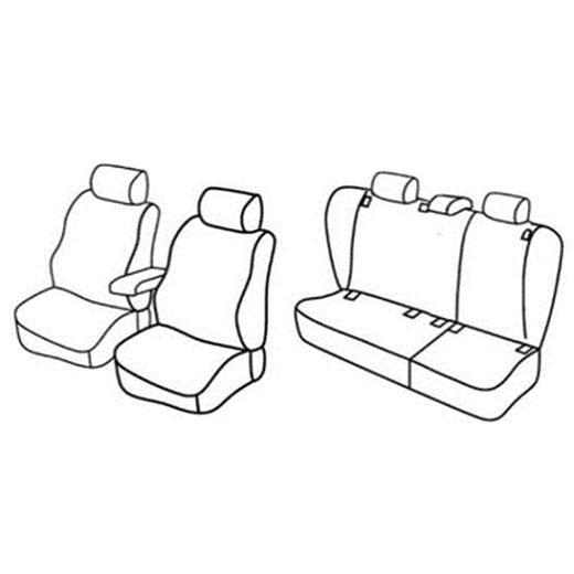 Sedežne prevleke za Volkswagen Golf 5 Variant