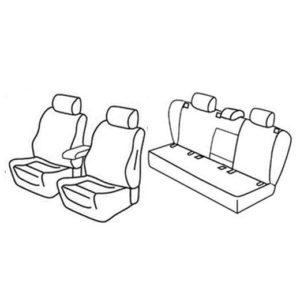 Sedežne prevleke za Volkswagen Jetta Comfortline