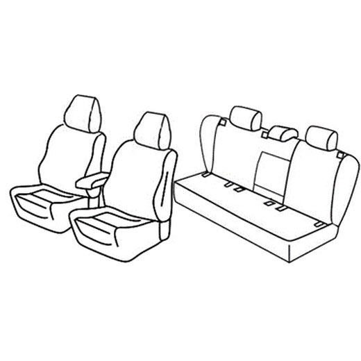 Avtoprevleke po meri za Volkswagen Jetta Comfortline