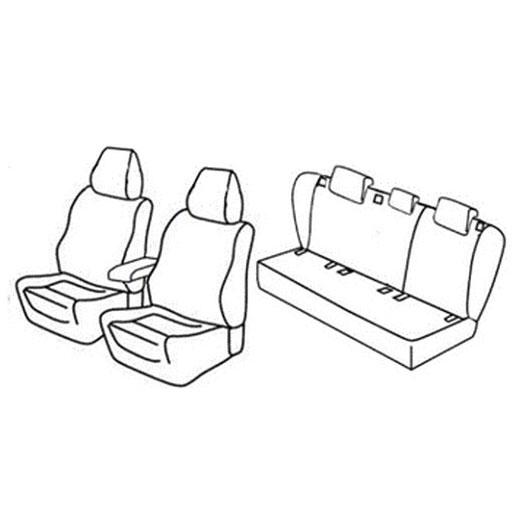 Sedežne prevleke za Volkswagen Jetta Sportline