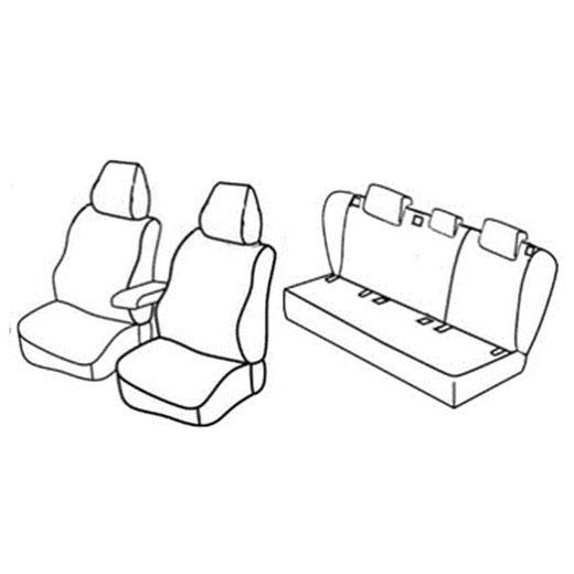 Sedežne prevleke za Volkswagen Jetta Trendline