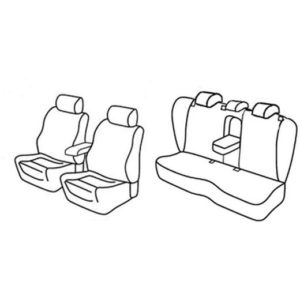 Sedežne prevleke za Volkswagen Passat Sportline