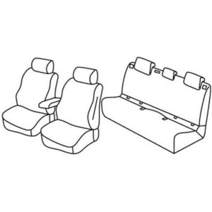 Sedežne prevleke za Volkswagen Polo Lounge