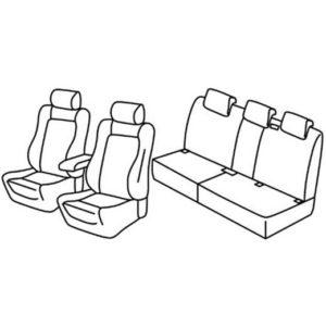 Sedežne prevleke za Volkswagen Tiguan Sportline