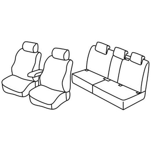 Sedežne prevleke za Volkswagen Tiguan Trendline