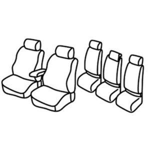 Sedežne prevleke za Volkswagen Touareg