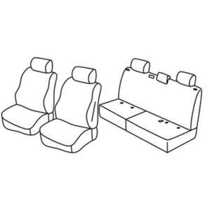 Sedežne prevleke za Volkswagen Amarok Trendline