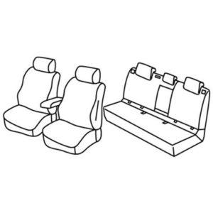 Sedežne prevleke za Volkswagen E-Golf 7