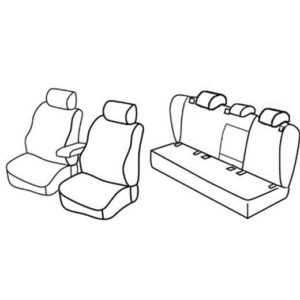 Sedežne prevleke za Volkswagen Golf 6 Variant