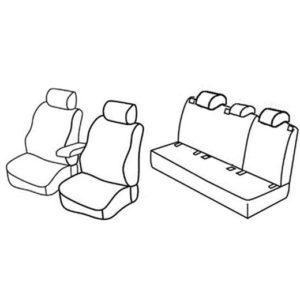 Sedežne prevleke za Volkswagen Golf 6 Trendline