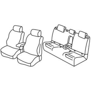Avtoprevleke po meri za Volkswagen Golf 7 Comfortline