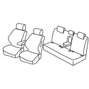 Sedežne prevleke za Volkswagen Jetta 6