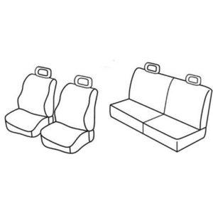 Sedežne prevleke za Volkswagen Lupo Seat Arosa