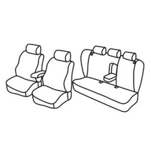 Sedežne prevleke za Volkswagen Passat
