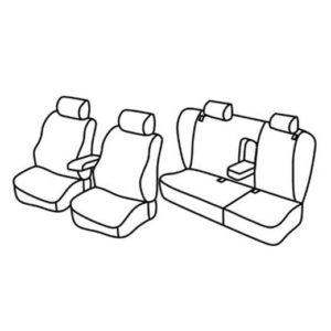 Sedežne prevleke za Volkswagen Passat Variant