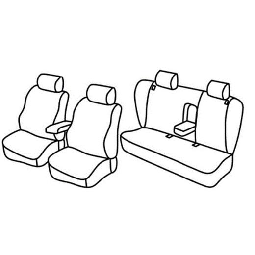 Sedežne prevleke za Volkswagen Passat B5