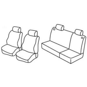 Sedežne prevleke za Volkswagen Polo Classic